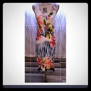 Tommy Bahama Floral Dress Size L